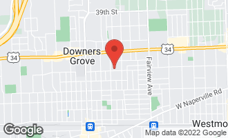 Map of 730 Grant Street DOWNERS GROVE, IL 60515