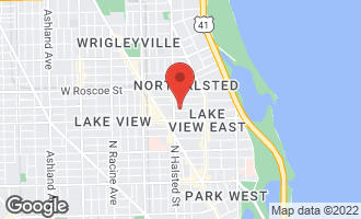 Map of 730 West Melrose Street CHICAGO, IL 60657