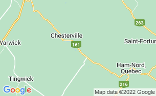 Map of Camping Val Chester