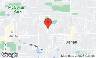 Map of 7309 Summit Road DARIEN, IL 60561