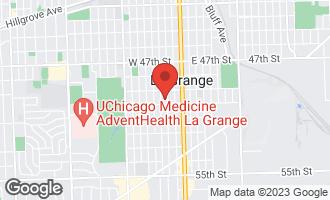 Map of 732 South Ashland Avenue LA GRANGE, IL 60525