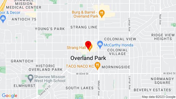 Google Map of 7320 W 80th St, Overland Park, KS 66204