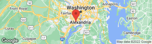 Map of 7324 WICKFORD DRIVE ALEXANDRIA, VA 22315