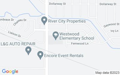 Map of 7325 Jewella Avenue