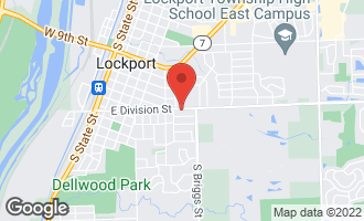 Map of 733 East Division Street LOCKPORT, IL 60441