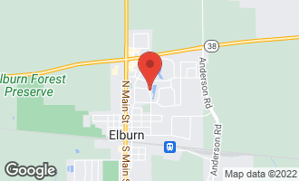 Map of 733 North Third Street ELBURN, IL 60119