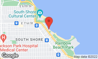 Map of 7337 South South Shore Drive #215 CHICAGO, IL 60649