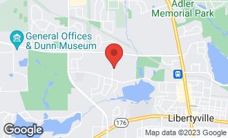 Map of 734 Paradise Lane LIBERTYVILLE, IL 60048