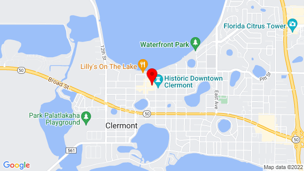 Google Map of 735 West Minneola Ave, Clermont, FL