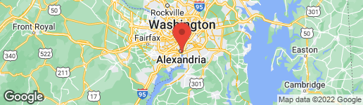 Map of 738 FORD'S LANDING WAY ALEXANDRIA, VA 22314