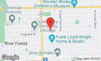 Map of 738 Forest Avenue OAK PARK, IL 60302