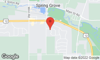 Map of 7397 English Oak Lane SPRING GROVE, IL 60081
