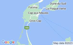 Map of Camping Parc De Gros-Cap