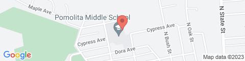 Google Map of 740 N Spring St, Ukiah, CA 95482