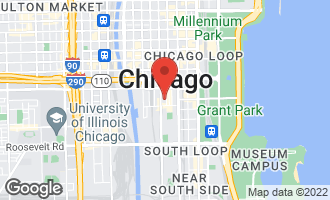 Map of 740 South Federal Street #707 CHICAGO, IL 60605