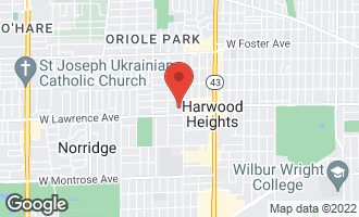 Map of 7400 West Lawrence Avenue #225 HARWOOD HEIGHTS, IL 60706