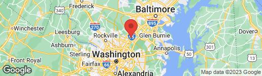 Map of 7418 BERRYLEAF DRIVE LAUREL, MD 20707