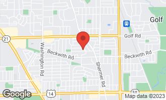 Map of 7418 Lyons Street MORTON GROVE, IL 60053