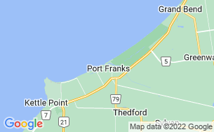 Map of Harbour Side Family Trailer Park