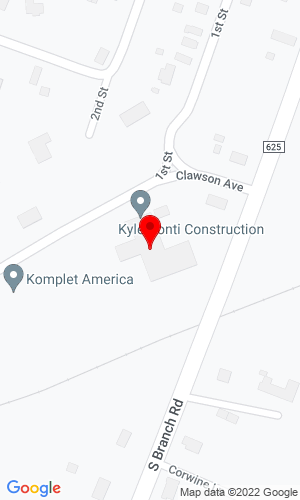 Google Map of BrenCo Equipment Supply & Technology 749 Clawson Avenue, Hillsborough, NJ, 08844