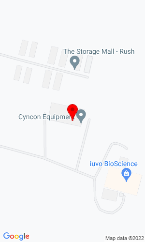 Google Map of Cyncon Equipment Inc. 7494 West Henrietta RdP.O. Box 30, Rush, NY, 14543