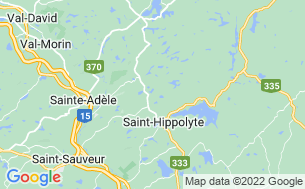 Map of Camping Du Pin Rouge