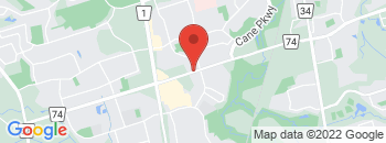Google Map of 75+Mulock+Drive%2CNewmarket%2COntario+L3Y+4W3