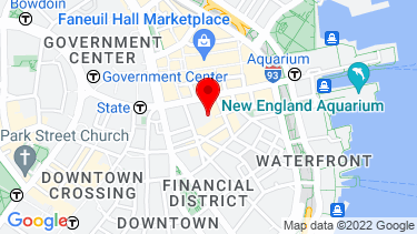 Google Map of 75 State St. Suite 100 Boston, MA 02109
