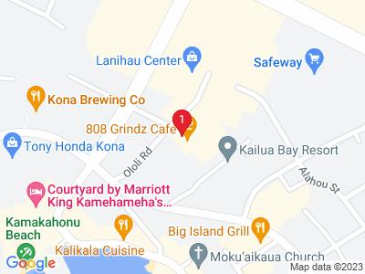 Google Map of 75-5660 Kopiko Street, Kailua-Kona, HI 96740 U.S.A