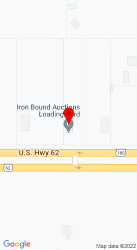 Google Map of Iron Bound Auctions 750 US Hwy 180W, Seminole, TX, 79360