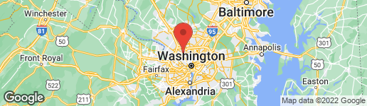 Map of 7500 WOODMONT AVENUE S320 BETHESDA, MD 20814