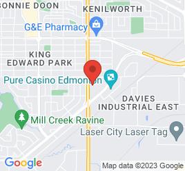 Google Map of 7505+75+Street%2CEdmonton%2CAlberta+T6C+4H8