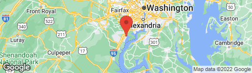 Map of 751 VESTAL STREET WOODBRIDGE, VA 22191
