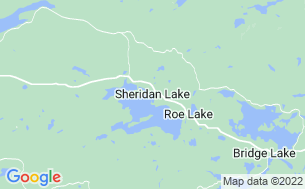 Map of Sheridan Lake Resort