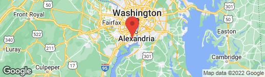 Map of 7510 SNOWPEA COURT F ALEXANDRIA, VA 22306