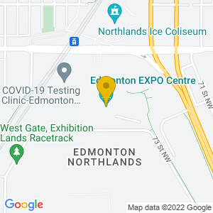 Map to Edmonton Expo Centre provided by Google