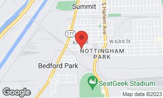 Map of 7522 West 64th Street SUMMIT, IL 60501
