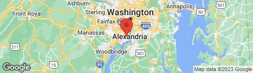 Map of 7524 MILWAY DRIVE ALEXANDRIA, VA 22306