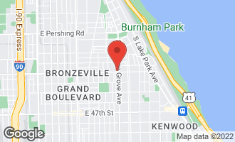 Map of 754 East 43rd Street 2E CHICAGO, IL 60653
