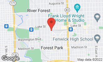 Map of 7541 Brown Avenue A FOREST PARK, IL 60130