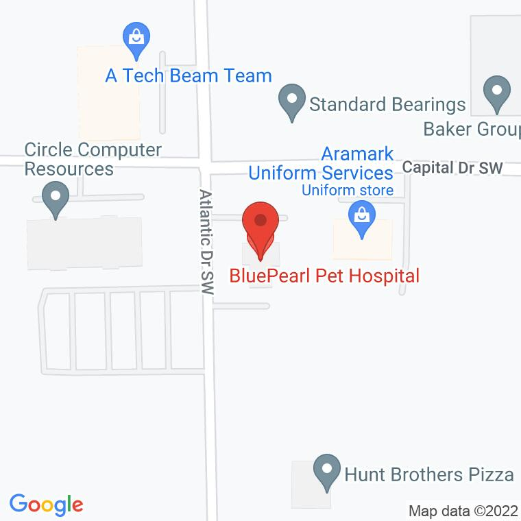 Google Map of 755 Capital Dr. SW, Cedar Rapids, IA 52404, 755 Capital Dr. SW, Cedar Rapids, IA 52404