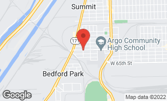 Map of 7557 West 63rd Street SUMMIT, IL 60501