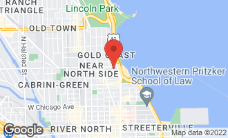 Map of 76 East Elm Street #4 CHICAGO, IL 60611