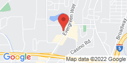 Google Map of 7600 Evergreen Way+Everett+WA+98203