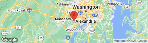 Map of 7603 GRALNICK PLACE SPRINGFIELD, VA 22153