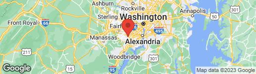 Map of 7603 LONG PINE DRIVE SPRINGFIELD, VA 22151