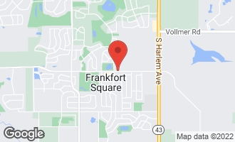 Map of 7610 West St Francis Road FRANKFORT, IL 60423