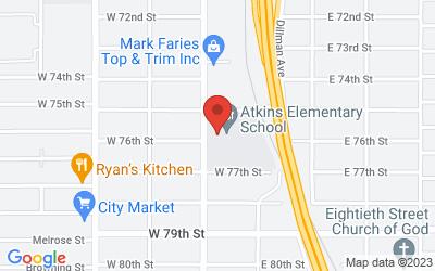 Map of 7611 Saint Vincent Avenue, Shreveport, LA, USA