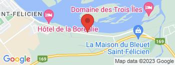 Google Map of 762%2C+boul.+Sacre-Coeur%2CSaint-Felicien%2CQuebec+G8K+2R4