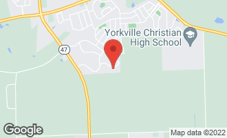 Map of 762 Kentshire Drive YORKVILLE, IL 60560